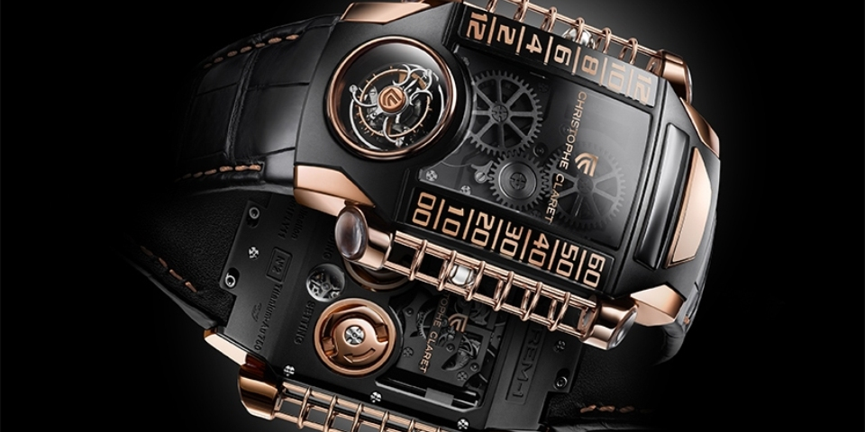 Christophe Claret partners with StingHD to launch 8-piece limited edition watch