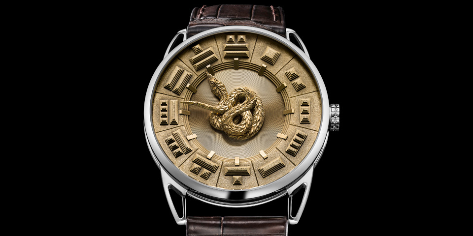 Elite Living Africa Gold Watch