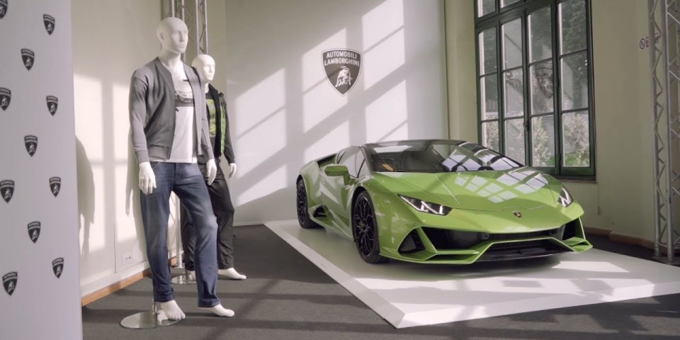 Introducing: Automobili Lamborghini Menswear Collection Fall Winter 2020-2021