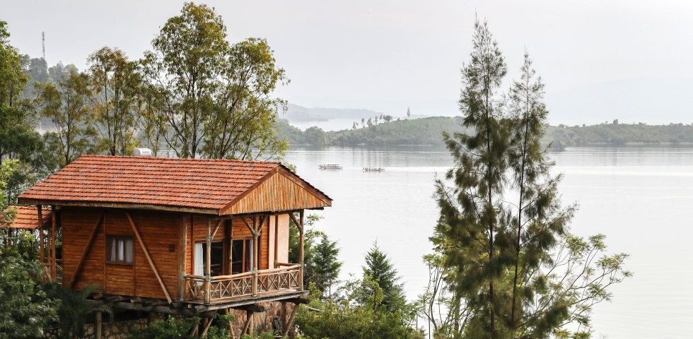 Lake Kivu Cormoran elite living africa