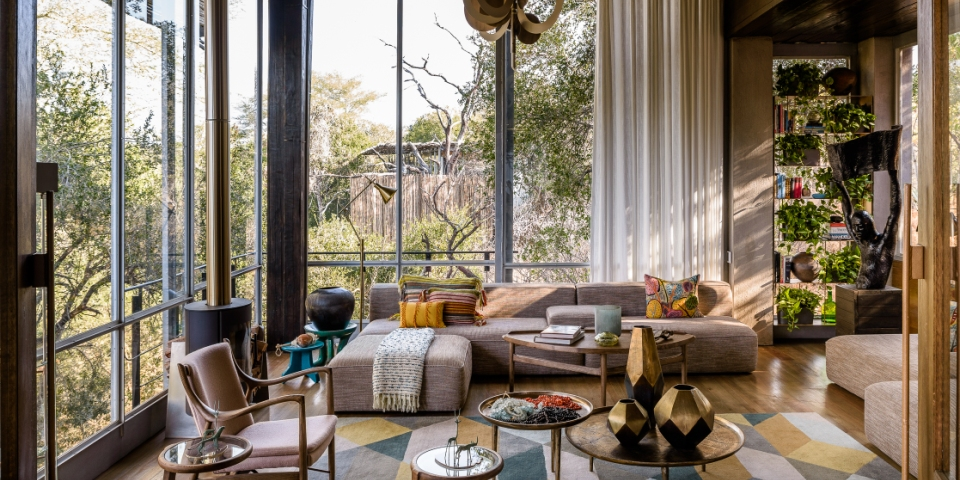 Singita Sweni Lodge lounge elite living africa