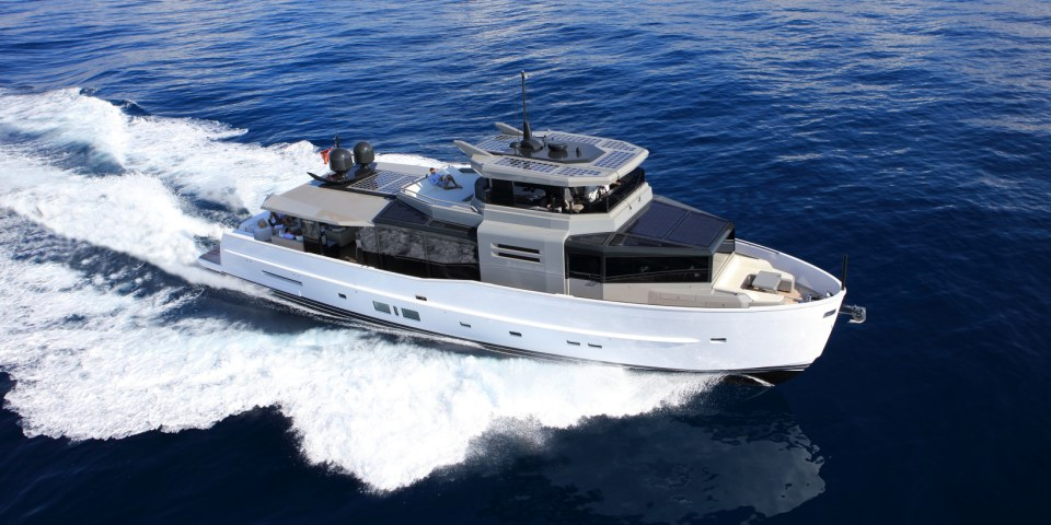 Arcadia 85S to make world debut at Cannes Yachting Festival 2016