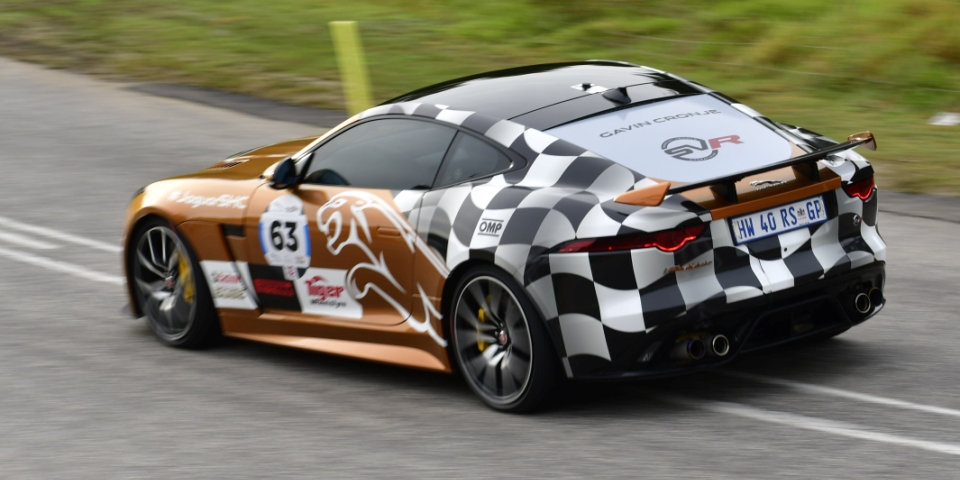 Jaguar shows its claws at the Simola Hillclimb