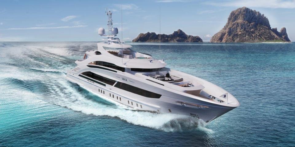Heesen unveils Project Maia motor yacht