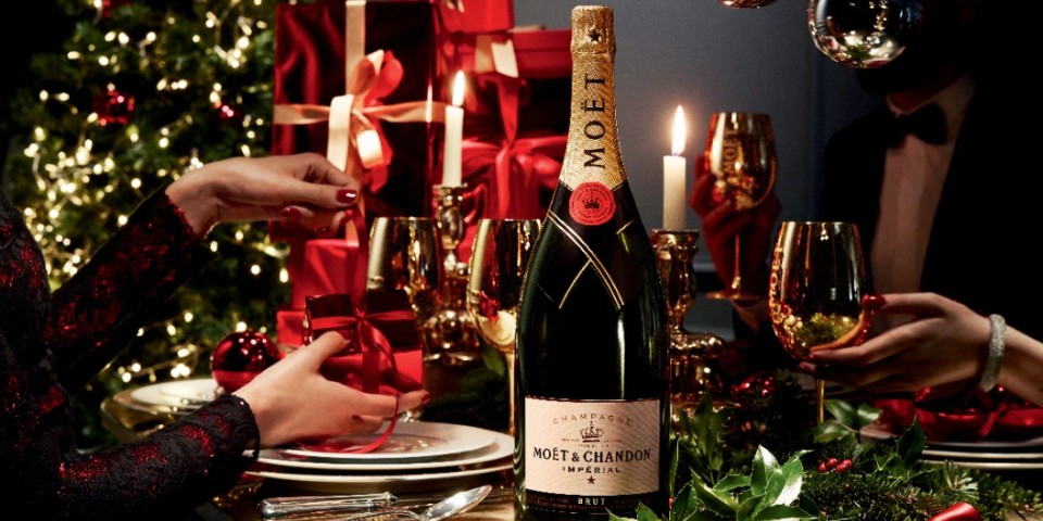 Moet Chandon Christmas elite living africa