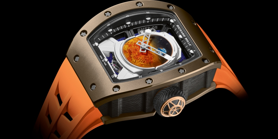 Pharrell Williams collaborates with luxury watchmaker Richard Mille