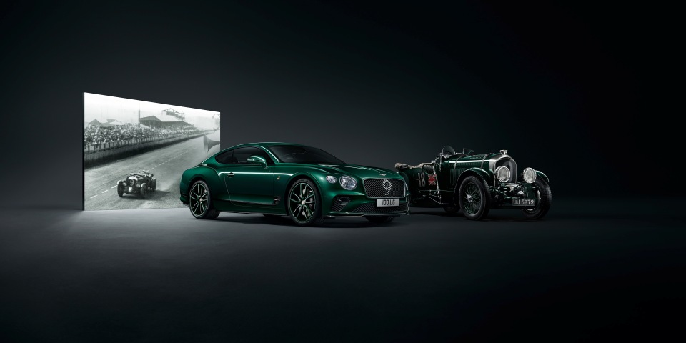 Bentley marks 100 years with the Continental GT Number 9 Edition