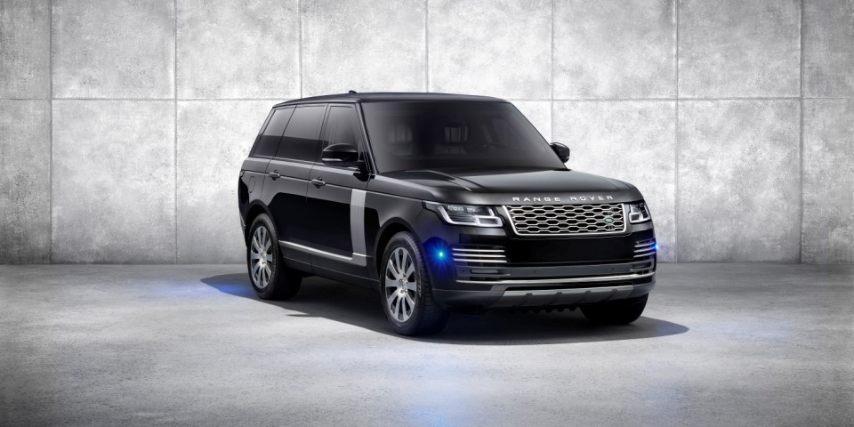 Land Rover reveals the armoured Range Rover Sentinel