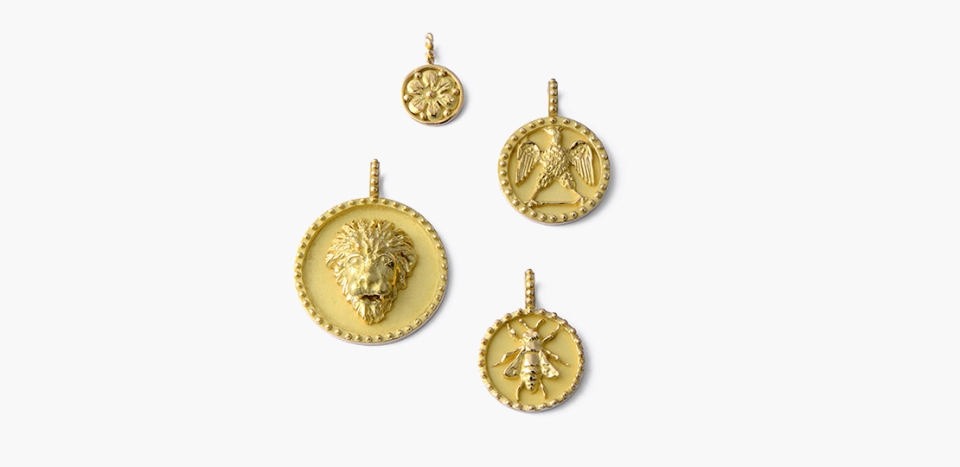 Tabbah's Talisman Medallions are this season's must-have