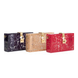 From the Rainbow collection Dolce Box with Dolce lock and lace embroideries